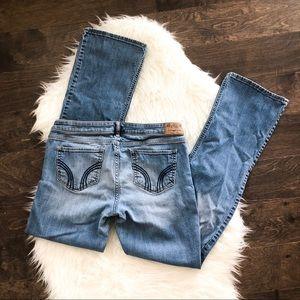 Hollister Light Blue Flare Jeans